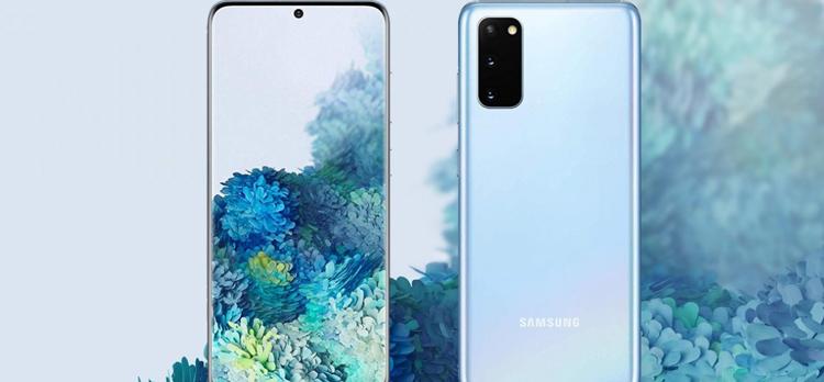 مشخصاتSamsung Galaxy S20